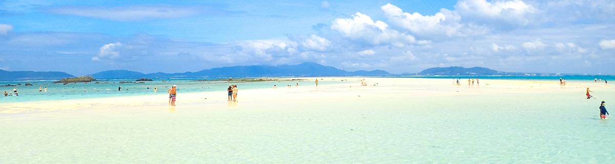 石垣島の幻の島・浜島