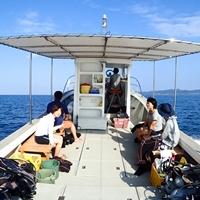 自社所有艇3艇全コースボート開催