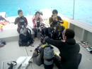 体験ダイビング説明